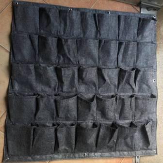 Túi vải trồng cây  1m x 1m