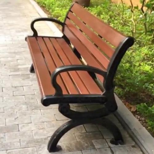 Ghế băng ngoài trời gỗ nhựa