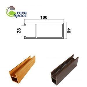 Thanh lam wpvc 100x40 mm